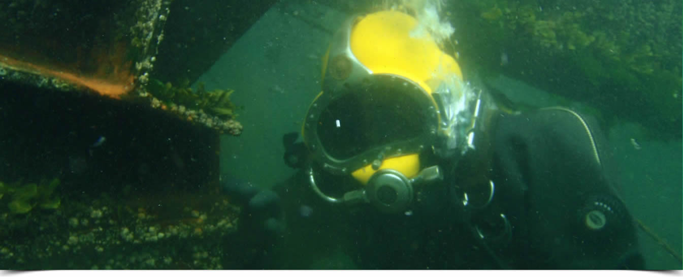 Seaway Diving – Vancouver Island Most Experienced Surface Air Diving Company